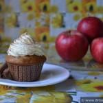 Briose cu mere si crema de vanilie