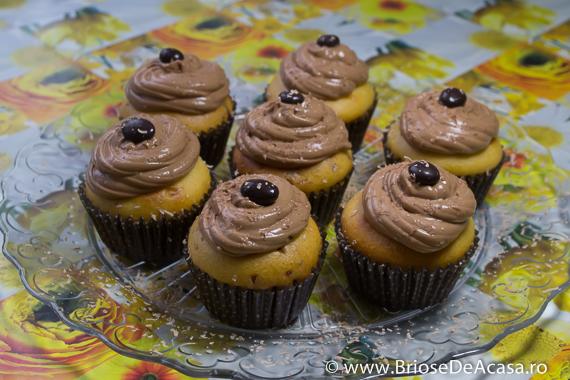 Muffins cu ciocolata neagra