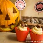 Halloween cupcakes cu dovleac