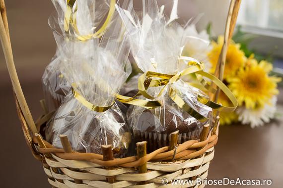 Cadou de Mos Nicoale - briose cu cacao si fistic