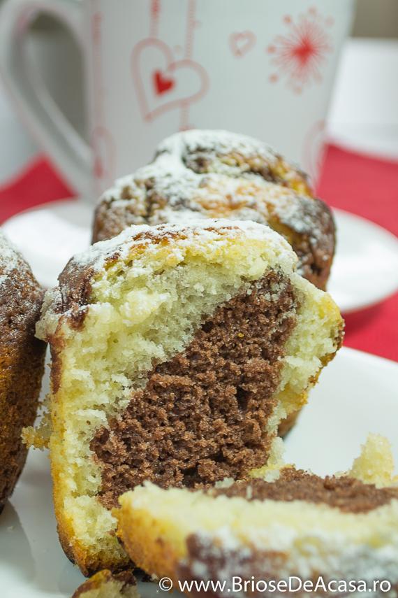 Muffins cu cacao