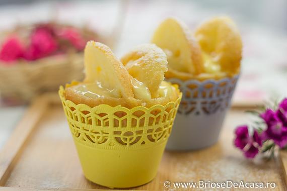 Briose fluturasi cu vanilie