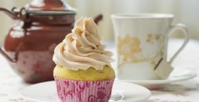 Cupcakes cu rubarba