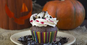 Cupcakes de Halloween cu Oreo