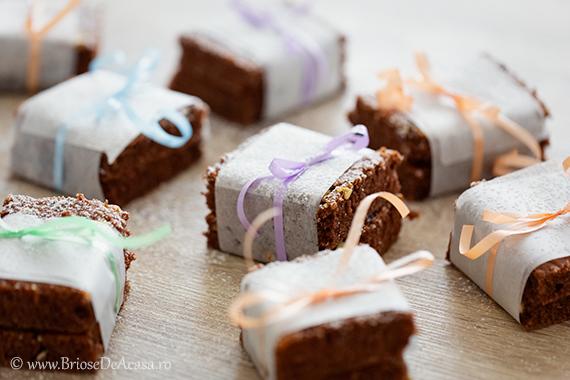 Negresa cu dulceata de capsuni